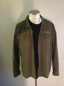 Mens army style shirt/jacket