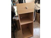 High bedside cabinet