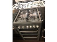 50CM SILVER HOTPPOINT GAS COOKER