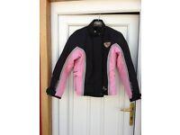 Ladies XS Figo motorcycle fabric jacket