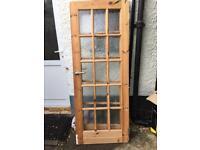 Used wooden doors x 3