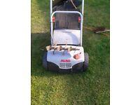 alko 32 vle comfort combi care scarifier aerator interchangeable with grassbox