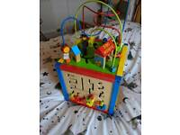 Toddler / baby storage activity centre
