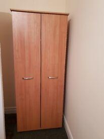 Two doors high wardrobe