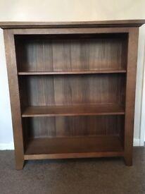 Solid Walnut Wood Bookcase