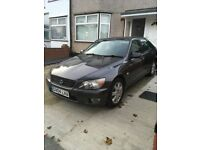 Lexus IS200. 2004 Automatic 120000 miles MOT till Feb 2018