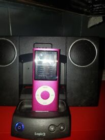 Ipod and docking station
