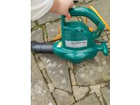 Vac leaf blower