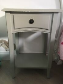 Bedside table - french grey