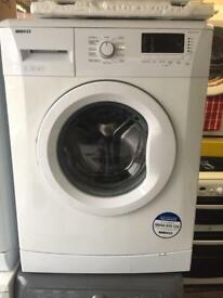 BEKO white good looking 7kg 1300spin A+ washing machine cheap