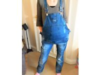 Maternity jeans dungaree