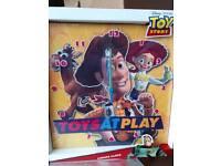 Toy story canvas clocks