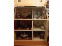 Victorian dolls house collection
