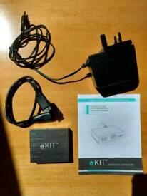 eKit powered 4 port USB 3.0 hub