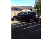 BMW 116i 5 door hatchback - Black
