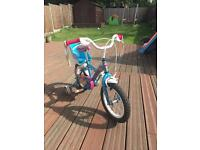 GREAT OFFER - Girls Apollo PomPom bicycle 3-5 years 12""