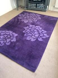 Large rug 228cm x 139cm approx just been cleaned