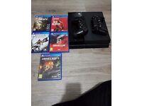 Playstation 4 5games
