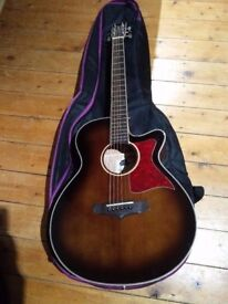 Tanglewood TW4 Winterleaf Series Electro Acoustic Guitar - 2 months old - Hardly Used