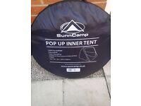caravan pop up inner tent.