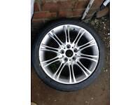 Bmw mv2 alloy & tyre