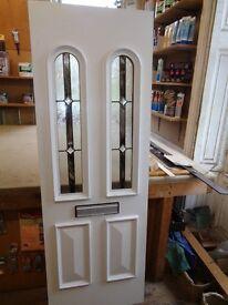 Upvc Door panel reinforced for extra security