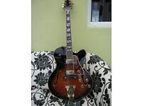 aria pro II fa70 bs jazz guitar.