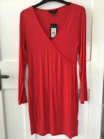 New Look red dress size 10