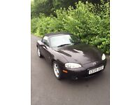 REDUCED- £1450 until 3pm today!! Mazda Mx5, 2 seater convertible, 76,000 miles, MOT until Jan '17