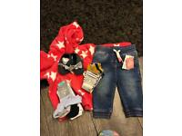 Baby clothes all Nwt