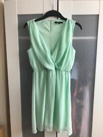 Mint green dress. Size 10 from New Look
