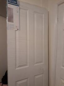 Brand new 4 Panel Pre-painted Internal door