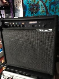 Line 6 spider V 60watt combo with wireless transmitter in excellent condition