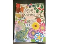 The four seasons Colouring book