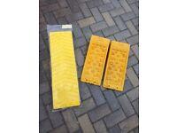 Fiamma levelling blocks & anti-skid plates