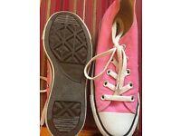 Pink Converse, still in box