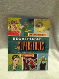Novelty regrettable super hero's book