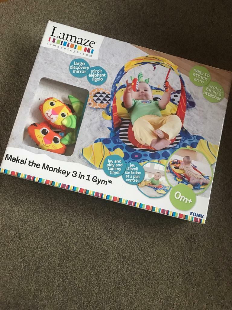 Lamaze 3 in 1 Monkey Play gym Brand New