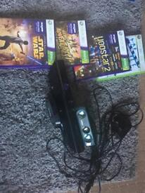 X box 360 Kinect and games