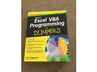 Dummies VBA programming books - various