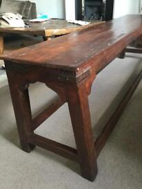 Wooden Bench from India
