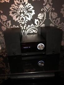 Speaker system DAB/aux input/CD Player/Bluetooth Pioneer x-cm32btd-k