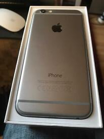 iPhone 6, space 16gb space grey , opened to all networks