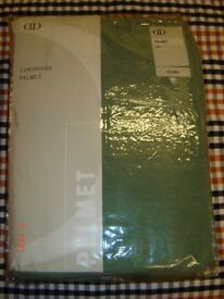 Wycome Pelmet scarf green new size 3 100% polyester chenille length 230 inches. 2 available £18 each