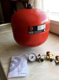 Central heating pressure vessel