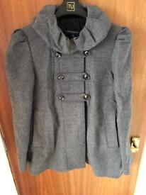 French connection jacket size 10