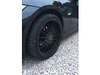 4 x 19 inch Breyton wheels off BMW 3 series