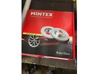 Ford Transit 00-06 Front Brake Disks Mintex