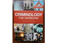 Criminology. Tim Newburn
