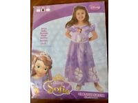 age 3-4 sofia costume